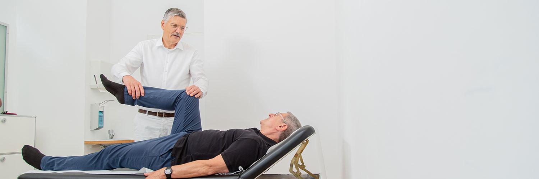 Orthopädie Frankfurt Westend - Frömel - Behandlung in der Praxis