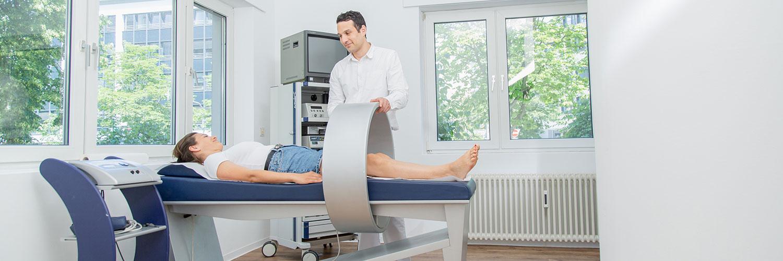 Orthopädie Frankfurt Westend - Frömel - Diagnostik in unsere Praxis